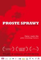 Prostye veshchi - Polish Movie Poster (xs thumbnail)