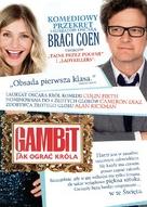 Gambit - Polish DVD movie cover (xs thumbnail)