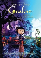 Coraline - German Movie Poster (xs thumbnail)