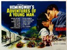 Hemingway's Adventures of a Young Man - British Movie Poster (xs thumbnail)