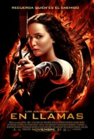 The Hunger Games: Catching Fire - Argentinian Movie Poster (xs thumbnail)