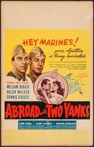Abroad with Two Yanks - Movie Poster (xs thumbnail)