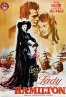 That Hamilton Woman - Spanish Movie Poster (xs thumbnail)