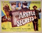 The Argyle Secrets - Movie Poster (xs thumbnail)