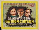 The Iron Curtain - British Movie Poster (xs thumbnail)