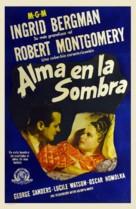 Rage in Heaven - Spanish Movie Poster (xs thumbnail)