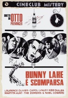 Bunny Lake Is Missing - Italian DVD movie cover (xs thumbnail)