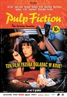 Pulp Fiction - Polish Movie Poster (xs thumbnail)