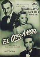 The Other Love - Spanish Movie Poster (xs thumbnail)
