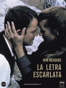 Scharlachrote Buchstabe, Der - Spanish DVD cover (xs thumbnail)