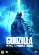 Godzilla: King of the Monsters - Danish DVD movie cover (xs thumbnail)