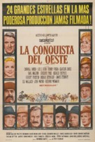 How the West Was Won - Argentinian Movie Poster (xs thumbnail)