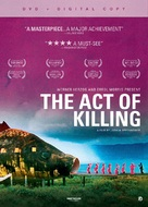 The Act of Killing - DVD cover (xs thumbnail)