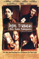 Lock Stock And Two Smoking Barrels - Brazilian Movie Poster (xs thumbnail)