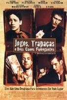 Lock Stock And Two Smoking Barrels - Brazilian Movie Poster (xs thumbnail)