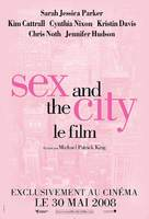 Sex and the City - French Movie Poster (xs thumbnail)