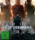 Star Trek Into Darkness - German Blu-Ray movie cover (xs thumbnail)