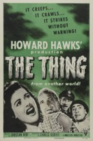 The Thing From Another World - Re-release movie poster (xs thumbnail)