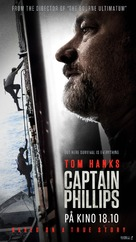 Captain Phillips - Norwegian Movie Poster (xs thumbnail)