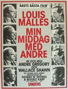 My Dinner with Andre - Swedish Movie Poster (xs thumbnail)