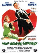 My Man Godfrey - French Movie Poster (xs thumbnail)