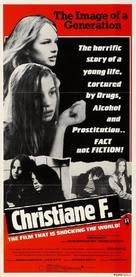Christiane F. - Australian Movie Poster (xs thumbnail)