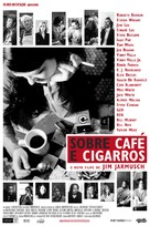 Coffee and Cigarettes - Brazilian Movie Poster (xs thumbnail)