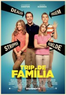 We're the Millers - Portuguese Movie Poster (xs thumbnail)