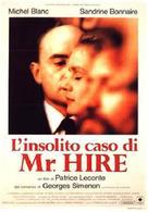 Monsieur Hire - Italian VHS cover (xs thumbnail)