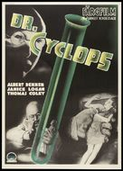 Dr. Cyclops - Swedish Movie Poster (xs thumbnail)