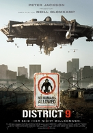 District 9 - German Movie Poster (xs thumbnail)
