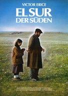 El sur - German Movie Poster (xs thumbnail)