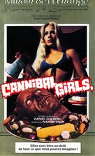 Cannibal Girls - French VHS movie cover (xs thumbnail)