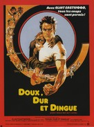 Every Which Way But Loose - French Movie Poster (xs thumbnail)