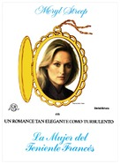 The French Lieutenant's Woman - Spanish Movie Poster (xs thumbnail)