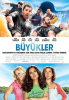 Grown Ups - Turkish Movie Poster (xs thumbnail)