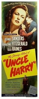 The Strange Affair of Uncle Harry - Movie Poster (xs thumbnail)