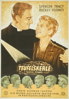 Boys Town - German Movie Poster (xs thumbnail)