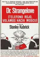 Dr. Strangelove - Spanish Movie Poster (xs thumbnail)