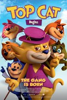 Top Cat Begins - British Movie Poster (xs thumbnail)