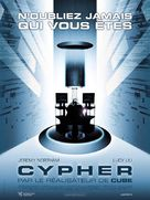 Cypher - French Movie Poster (xs thumbnail)
