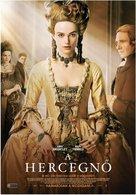 The Duchess - Hungarian Movie Poster (xs thumbnail)