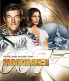 Moonraker - Blu-Ray cover (xs thumbnail)