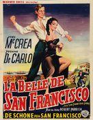 The San Francisco Story - Belgian Movie Poster (xs thumbnail)