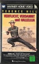 E poi lo chiamarono il magnifico - German VHS cover (xs thumbnail)