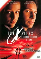The X Files - Portuguese Movie Cover (xs thumbnail)
