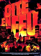 City on Fire - French Movie Poster (xs thumbnail)