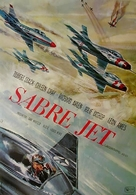 Sabre Jet - German Movie Poster (xs thumbnail)