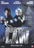 Martial Law - Dutch DVD cover (xs thumbnail)