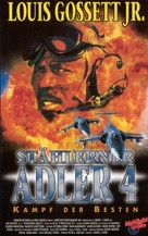 Iron Eagle IV - German VHS cover (xs thumbnail)